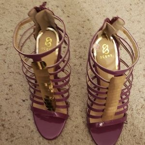 Seeing purple stiletto heels, 7.